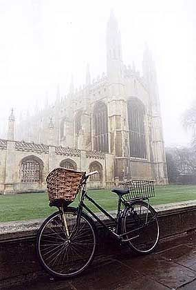 Heimlich, heimlich: Kings' College in Cambridge