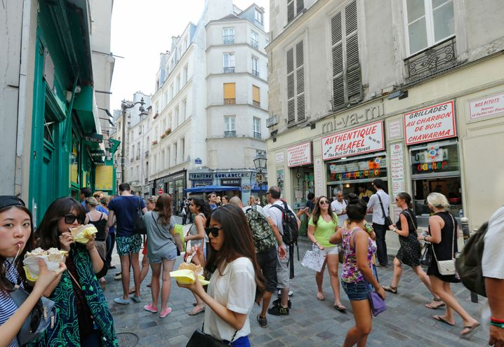 Le Marais in Paris: Tummelplatz für Touristen und Shopping-Wütige
