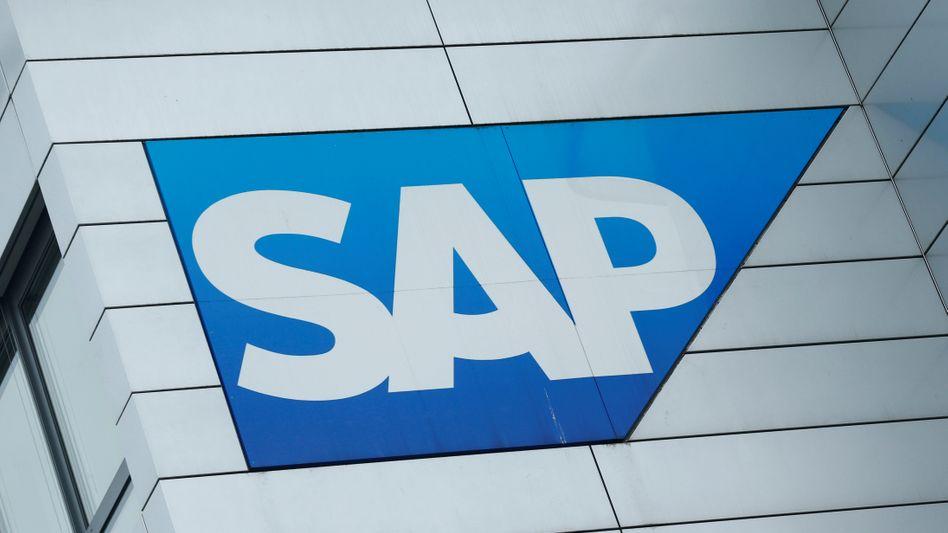 SAP-Logo: Der Software-Konzern gewinnt mit Google einen Kunden für seine Buchhaltungssoftware