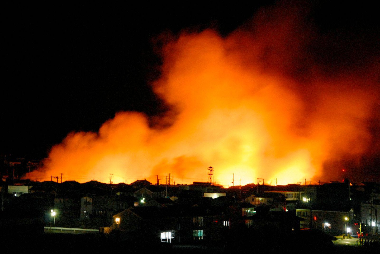 Erdbeben Japan SCHÄDEN