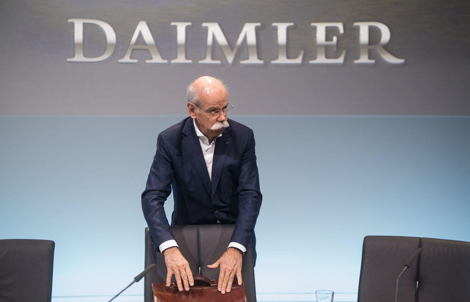 Daimler AG - Jahrespressekonferenz