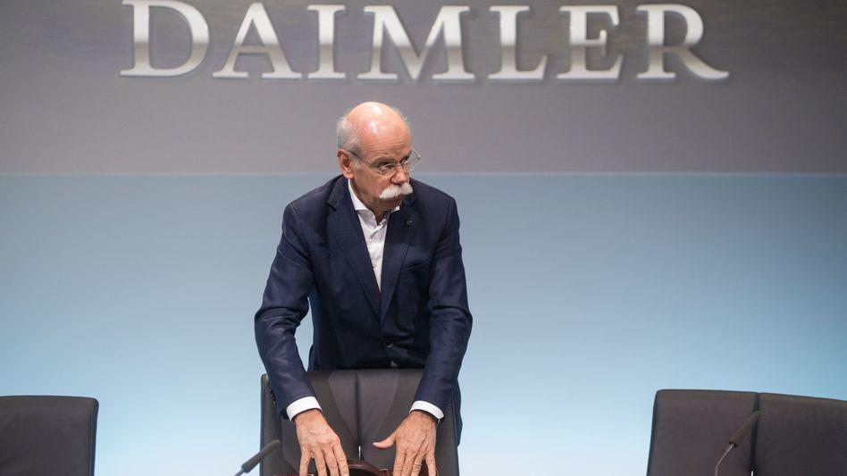 Sorgt sich: Daimler-Chef Dieter Zetsche.