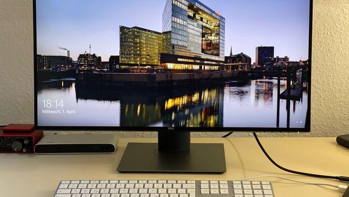 Monitore fürs Homeoffice im Test: Dell U2720Q