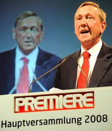 """""""Ich will Ergebnisse sehen"""": Der Vertrag von Premiere-Chef Börnicke endet im Oktober 2008"""