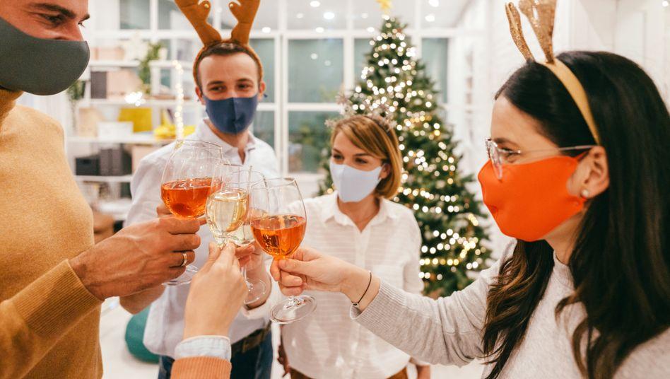Schwierige Trinksituation (Symbolfoto): Dieses Jahr keine klassischen Weihnachtsfeiern