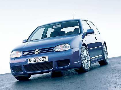 VW Golf R32: In der Supersport-Variante wird der Golf IV wohl nicht in China vom Band laufen