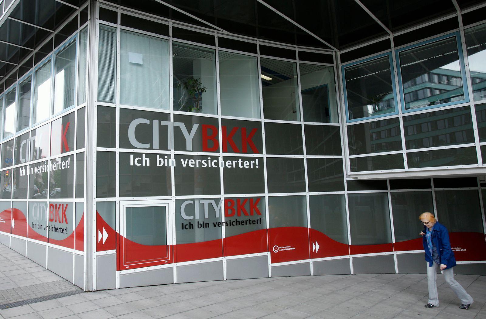 NICHT VERWENDEN City BKK / Stuttgart / Krankenkasse / Versicherung