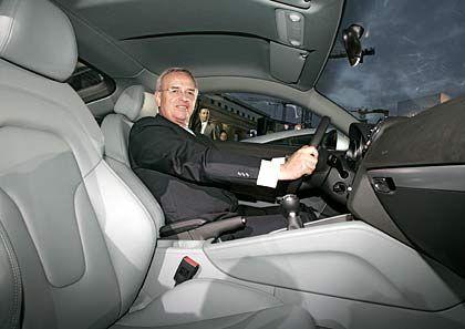 Mit Vollgas zur Sanierung: Neuer Volkswagen-Chef Winterkorn (hier im Audi TT)