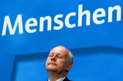 In der Kritik: Sachsens Regierungschef Milbradt