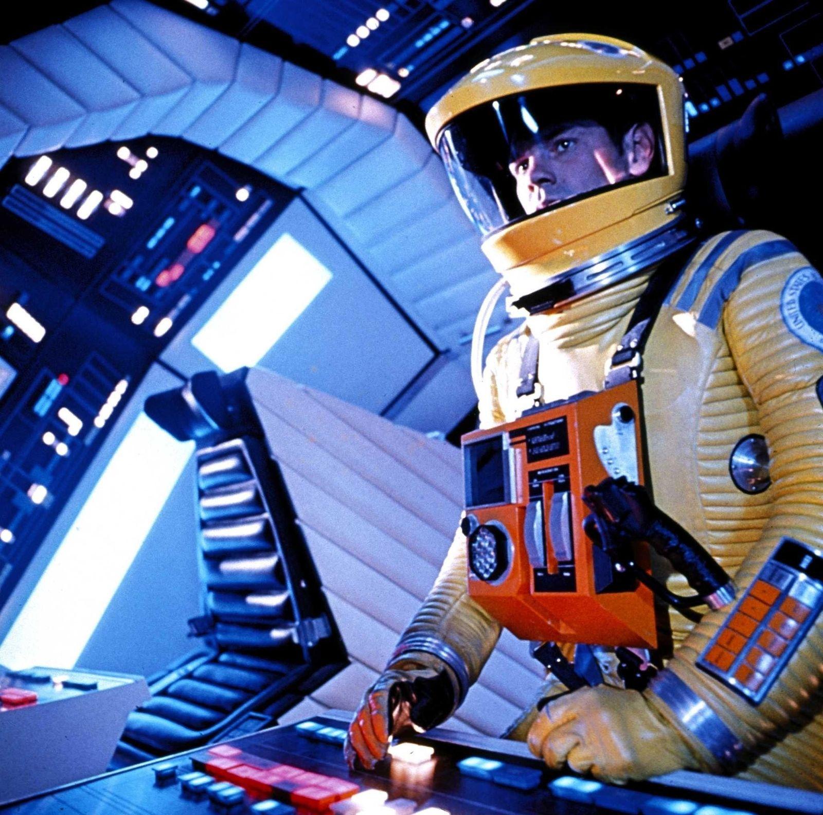 EINMALIGE VERWENDUNG KI/ Künstliche Intelligenz/ 2001: Odyssee im Weltraum