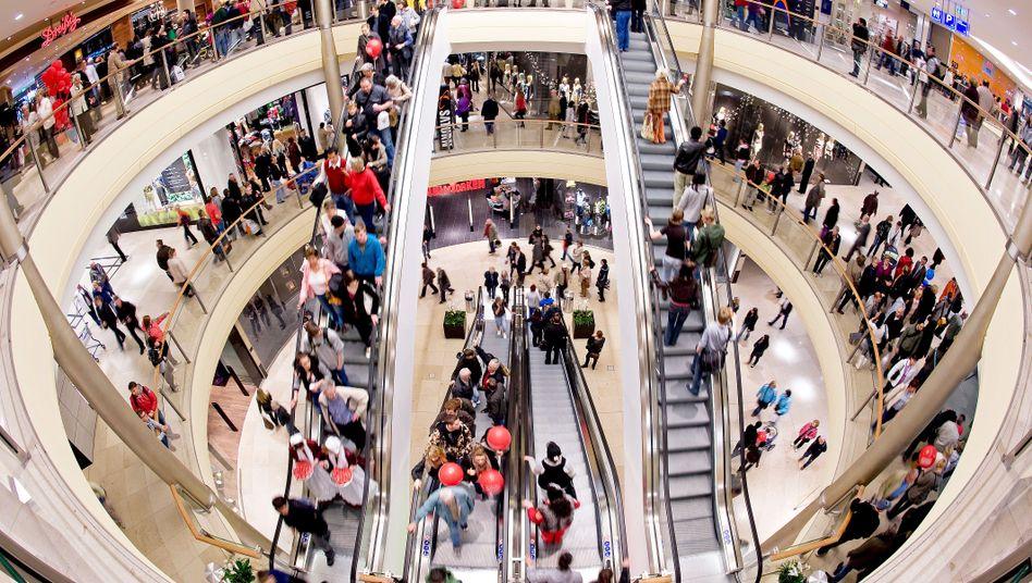 Altmarkt-Galerie in Dresden: Nicht nur der Konsum brummt - auch die Industrie ist zuversichtlich
