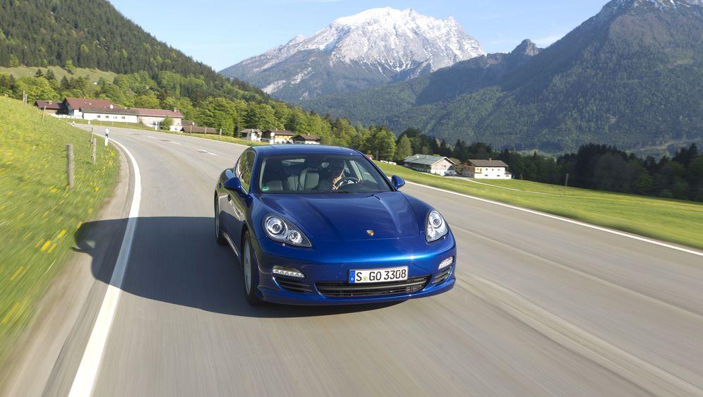 Porsche Panamera S Hybrid: Elektrisch auftrumpfen