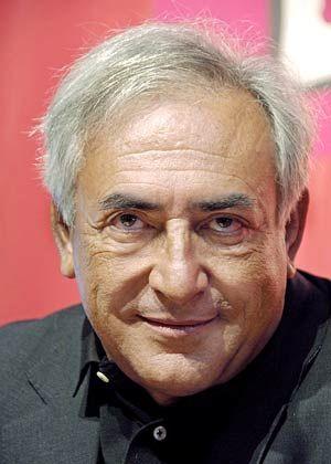 Reform des Währungsfonds vorantreiben:Der frühere französische Finanzminister Strauss-Kahn