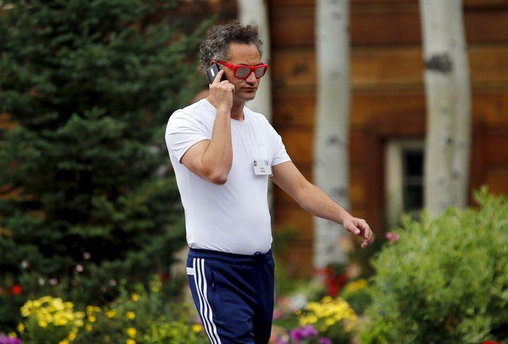 """Für ihn ist Palantir """"das wichtigste Unternehmen der Welt"""": CEO Alex Karp"""