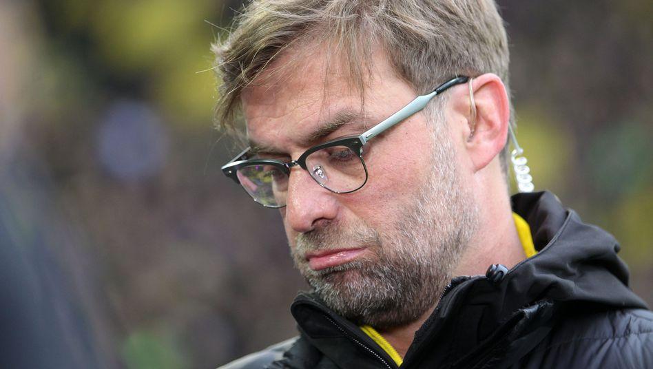 Der Noch-BVB-Trainer Jürgen Klopp: Seine Werbepartner halten ihm die Treue