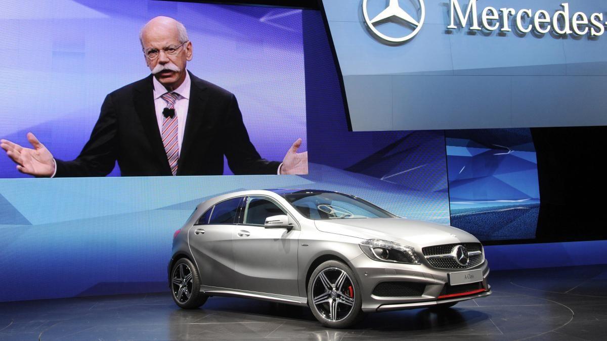 Paris Autosalon / 2012 / Mercedes A KLasse (Kopie)