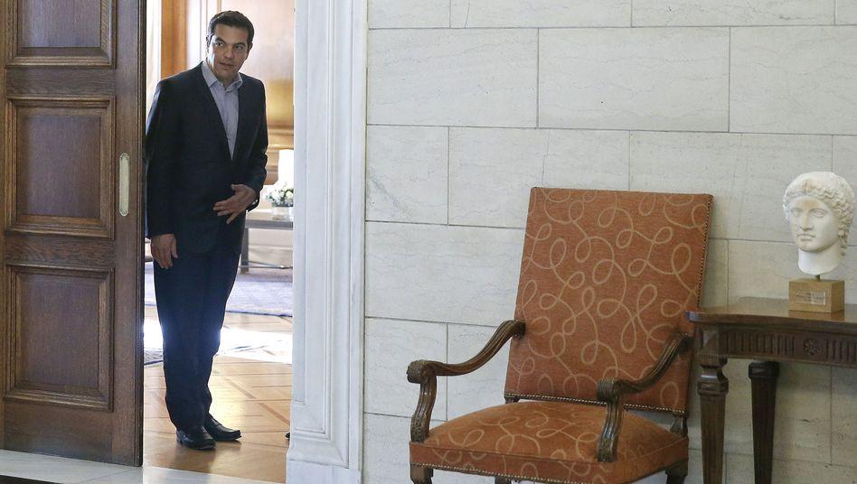 Griechenlands Premier Alexis Tsipras: In dieser Woche muss Griechenland einen IWF-Kredit zurückzahlen - und die Staatspleite rückt immer näher
