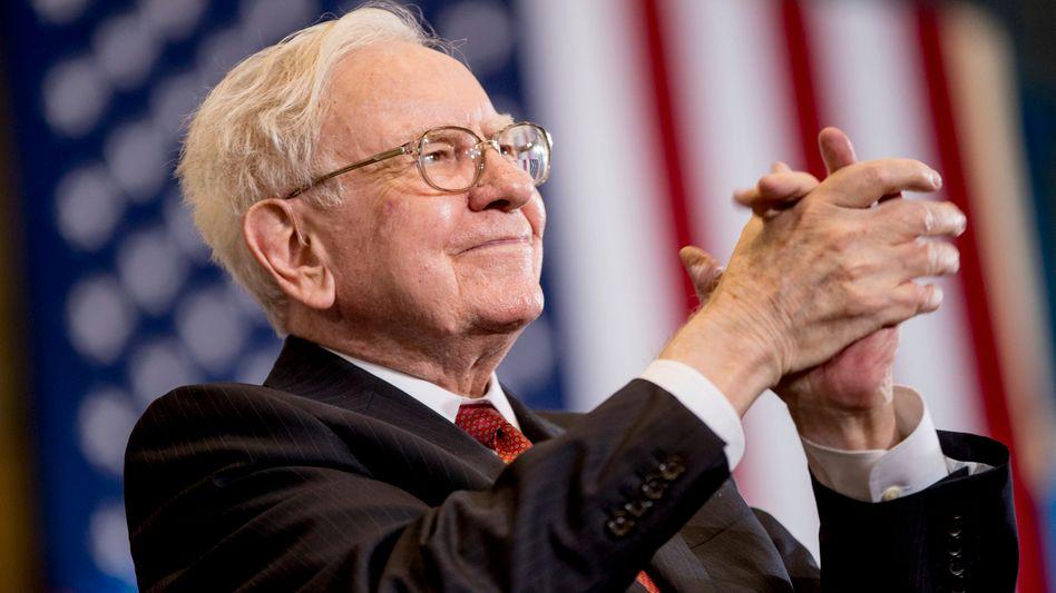 Bekannt für kluge Sprüche: Investment-Altmeister und Multimilliardär Warren Buffett