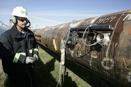 Marode: Im vergangenen Jahr musste BP wegen lecker Pipelines in Alaska die Förderung drosseln