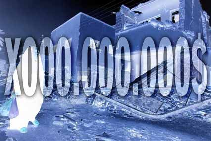 Ruine in Bagdad: Beim Wiederaufbau im Irak werden Milliarden umgesetzt