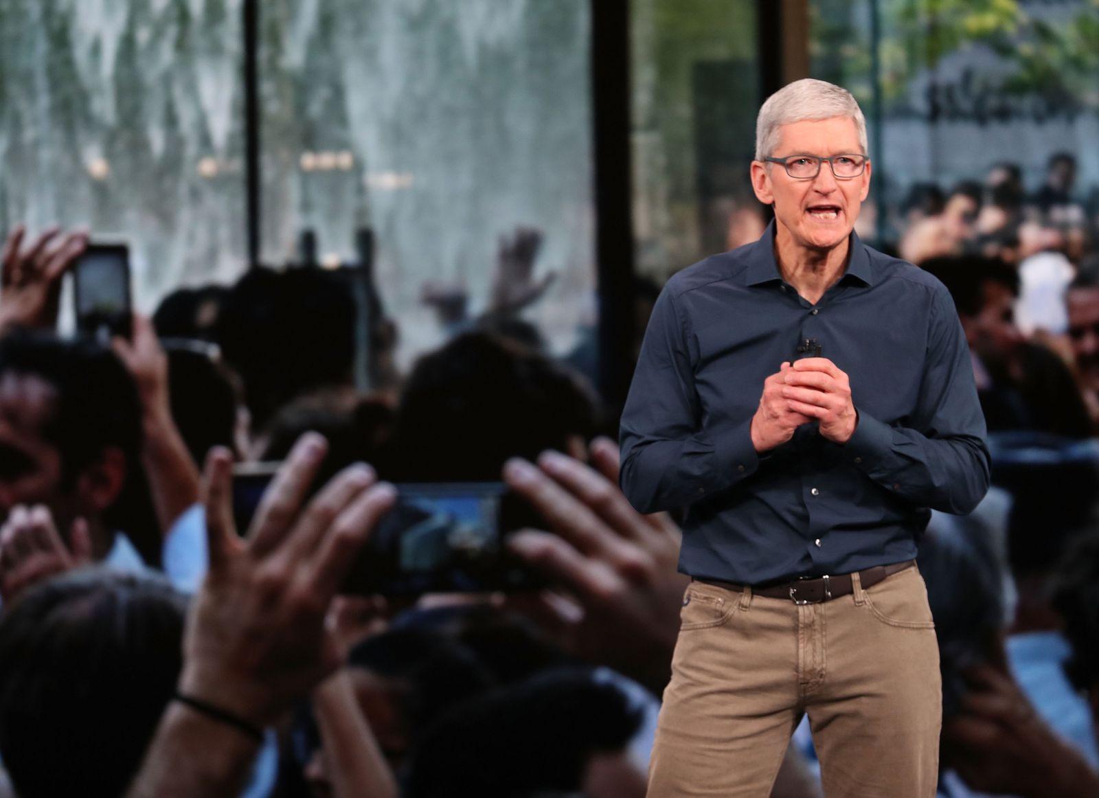 Tim Cook/ Apple Showcase 2018