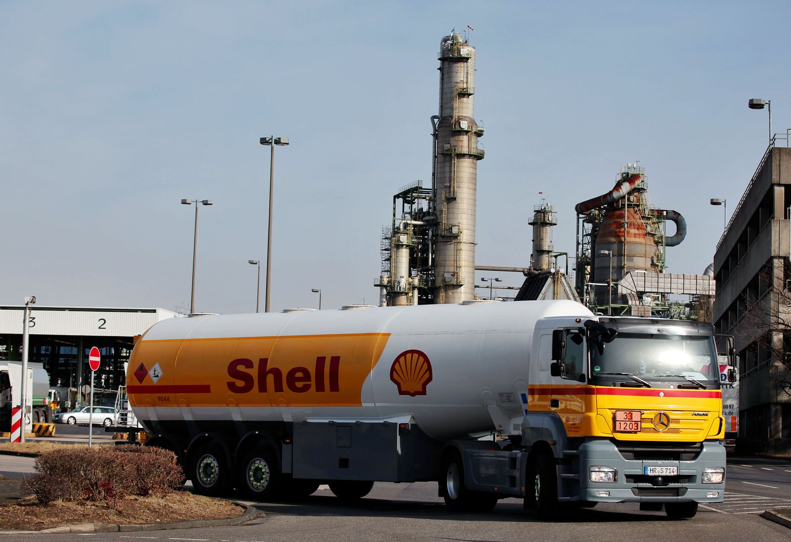 Shell / Benzin / Raffinerie