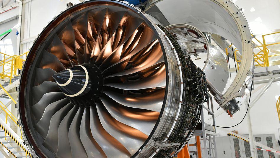 Airbus-Triebwerk von Rolls Royce: Nicht nur der Brexit trifft die Briten hart