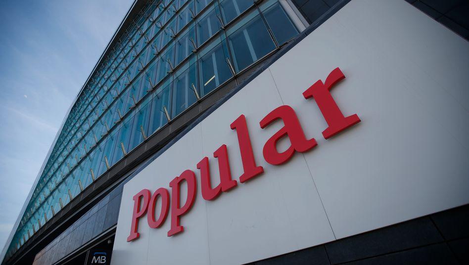 Banco Popular: Santander übernimmt den spanischen Konkurrenten, muss ihr Kapital dafür aber um sieben Milliarden Euro erhöhen