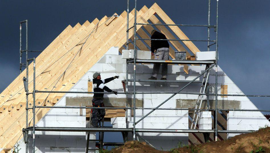 Hausbau: Die Preise gehen durch die Decke