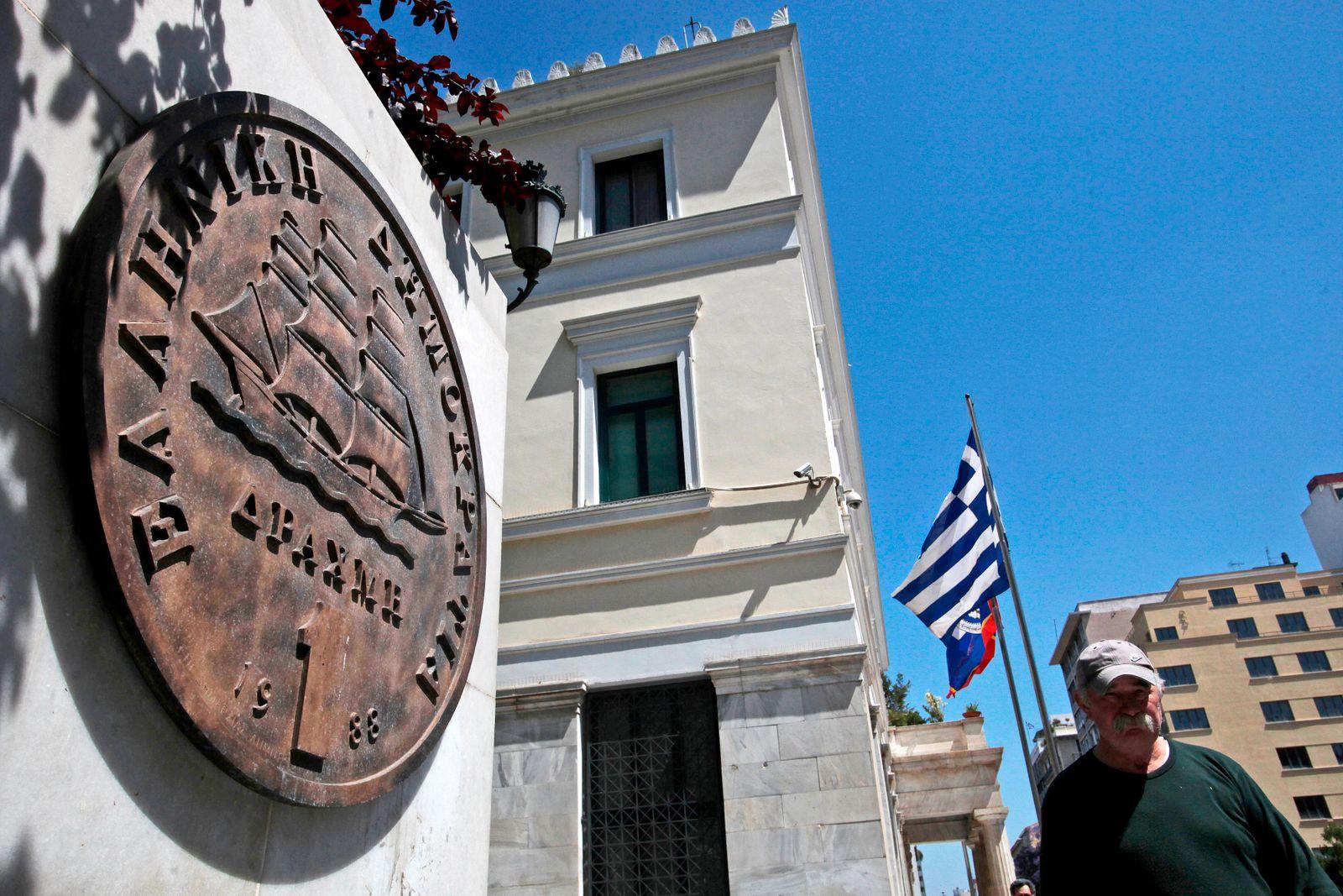 Griechenland / Flagge / drachma