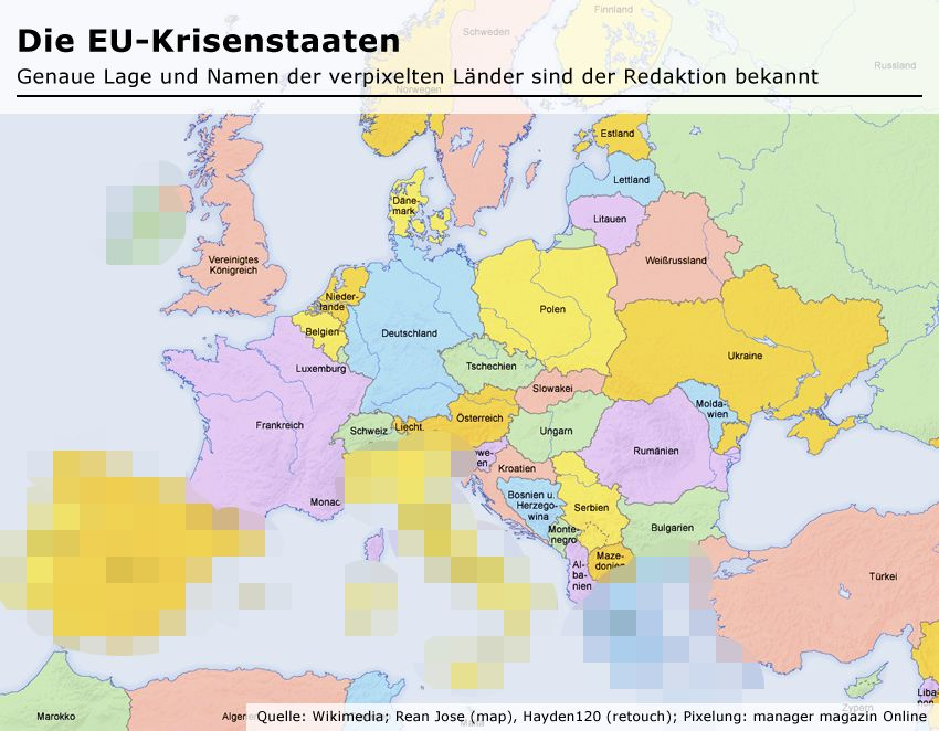 Die Krisenstaaten Europas