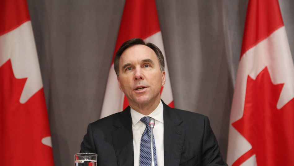Bill Morneau hatte offensichtlich Differenzen mit Premier JustinTrudeau