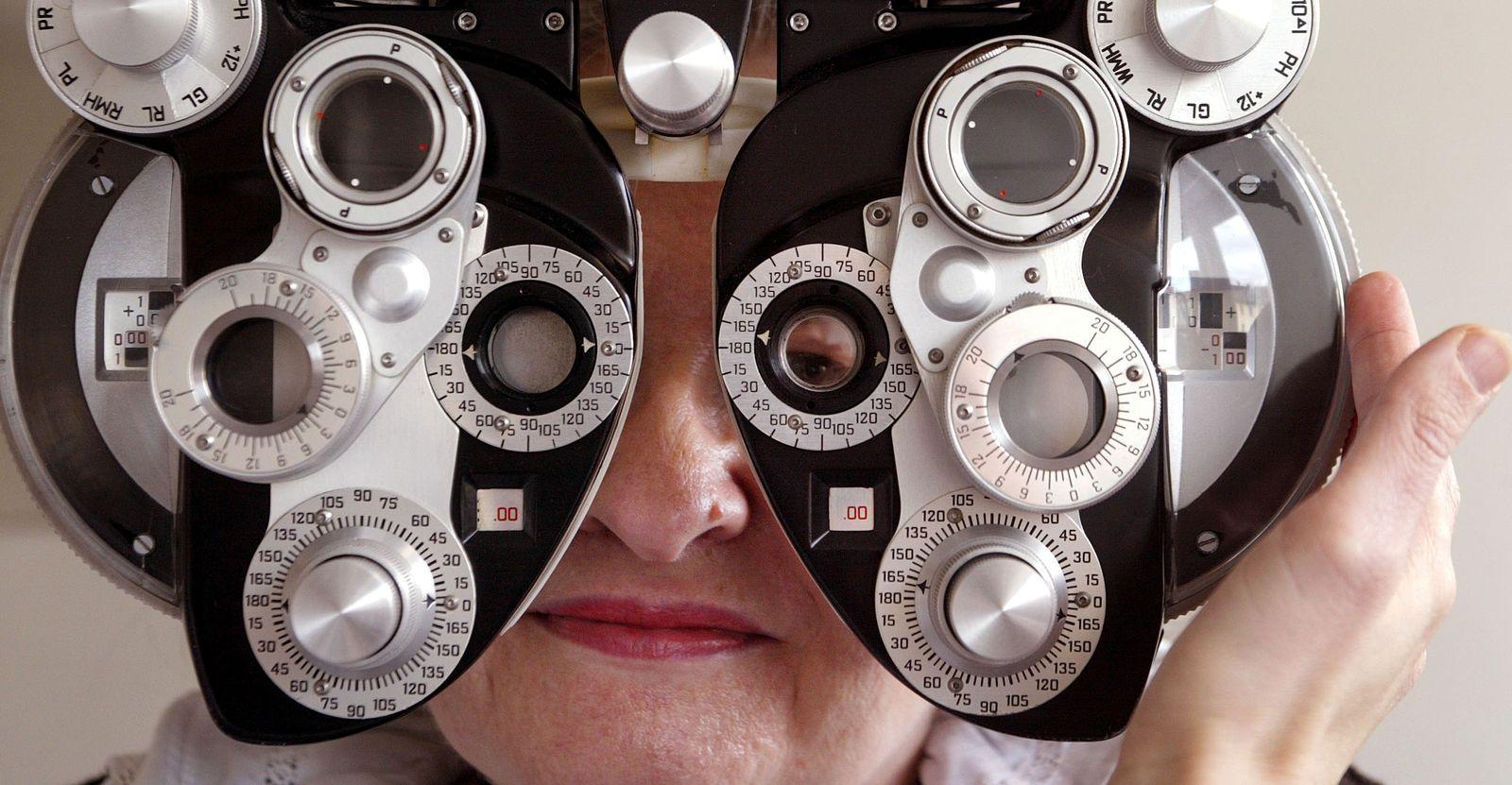 NICHT VERWENDEN Augenarzt / Sehtest
