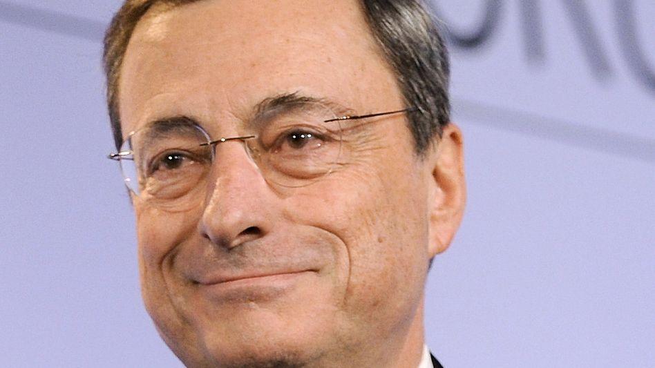 """EZB-Chef Draghi: """"Sowohl nach oben als auch nach unten sind die Risiken der Preisentwicklung begrenzt."""""""