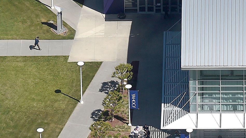 Yahoo-Zentrale in Sunnyvale (Kalifornien)