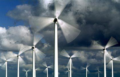 Zuverlässige Brise: Windenergiepark bei Ringkoebing