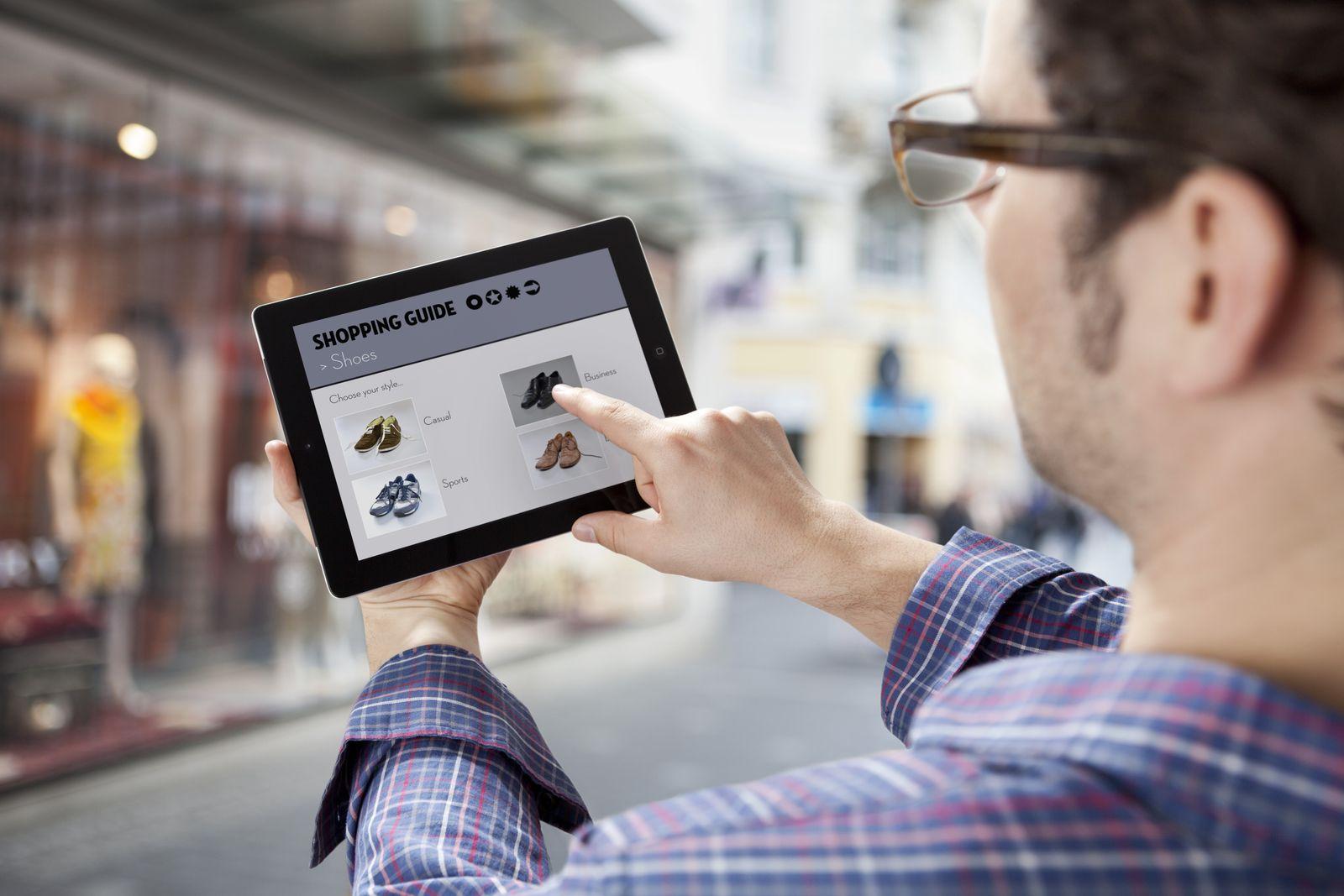 NICHT MEHR VERWENDEN! - Tablet / Werbung / Shopping / iPad