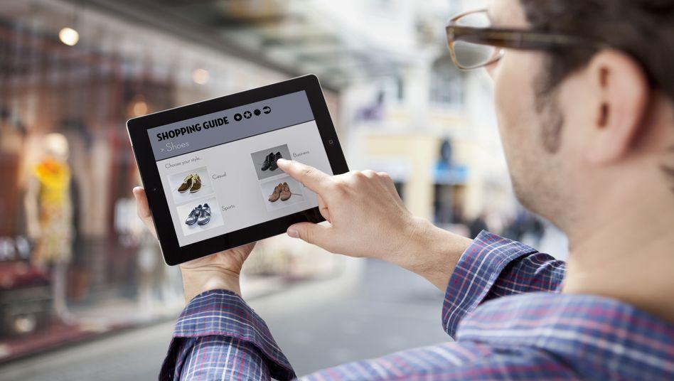 Einkauf per Tablet: Ein Prozent Prognoseverbesserung kann Millionen wert sein