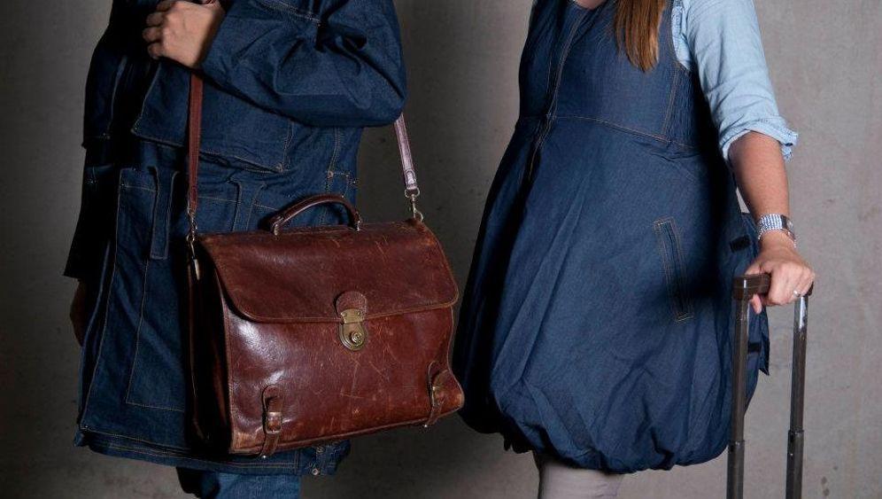 Gepäck-Jacken für Billigflieger: Mit vollen Taschen durch die Kontrolle