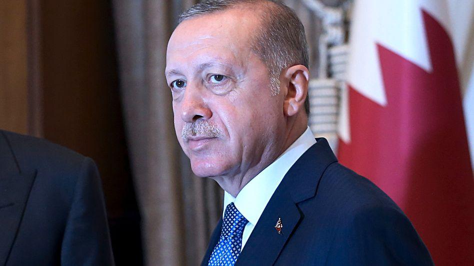 Türkischer Präsident Erdogan: Mit Volldampf in die Krise