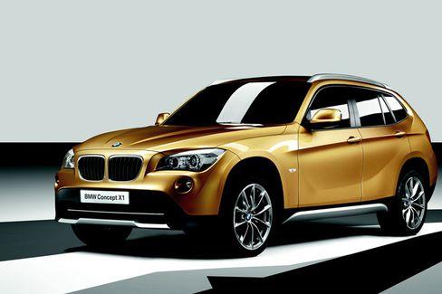 Goldene Zeiten inmitten der Finanzkrise: Das BMW-Konzeptauto X1