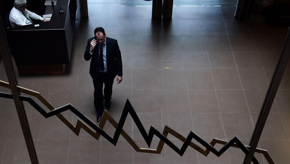 Börse in Athen: Die Regierung Tsipras muss rasch eine Reformliste vorlegen - Mitte April droht Athen das Geld auszugehen