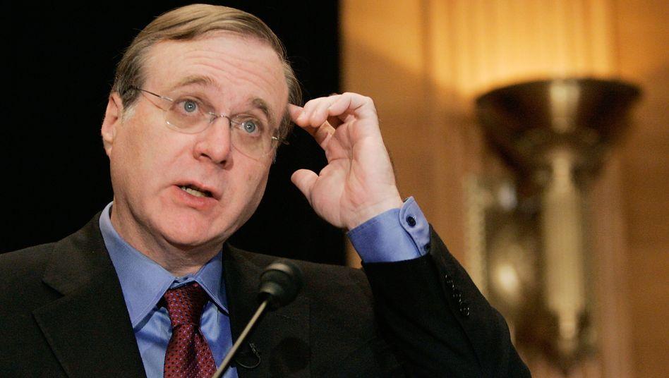 Paul Allen (Archiv-Bild 2006) hat aus einem privaten Vermögen 100 Millionen Dollar gespendet