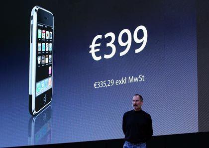 Bald in Deutschland erhältlich: Ab dem 9. November gibt es das iPhone bei T-Mobile zu kaufen