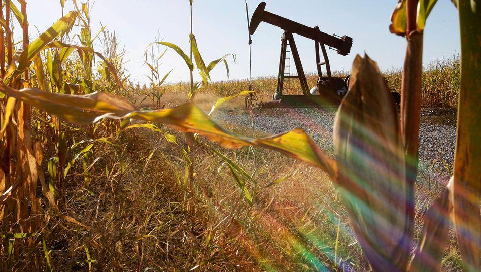 Öl emporpumpen: Früher ein lukratives Geschäft, heute eine Herausforderung