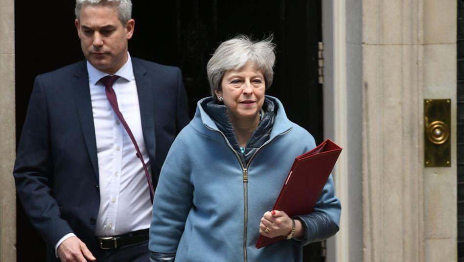 """Theresa May, Brexit-Minister Stephen Barclay: """"Keine ausreichende Unterstützung"""""""