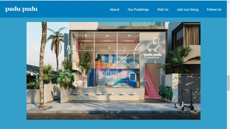 """Bild der ersten """"Pudu Pudu""""-Niederlassung in Kalifornien (Screenshot)"""