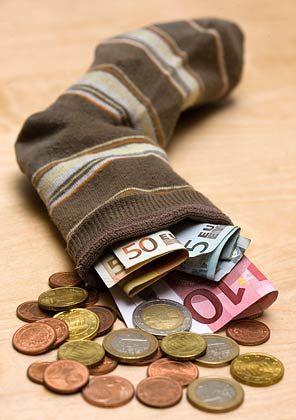 Sparstrumpf: Europäer rechnen nicht mit einer Geldspritze für die IT