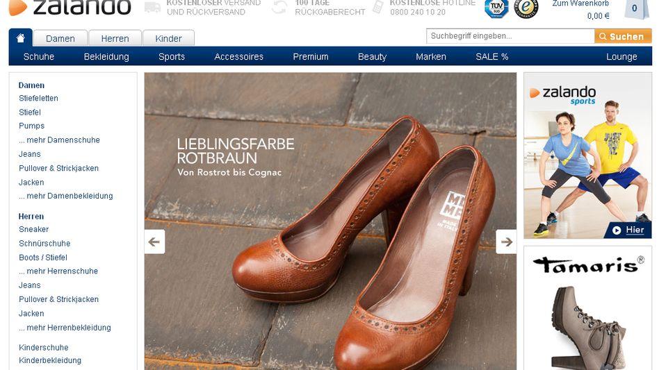 Schuhversender Zalando: Börsen-Kandidat mit Milliardenvolumen