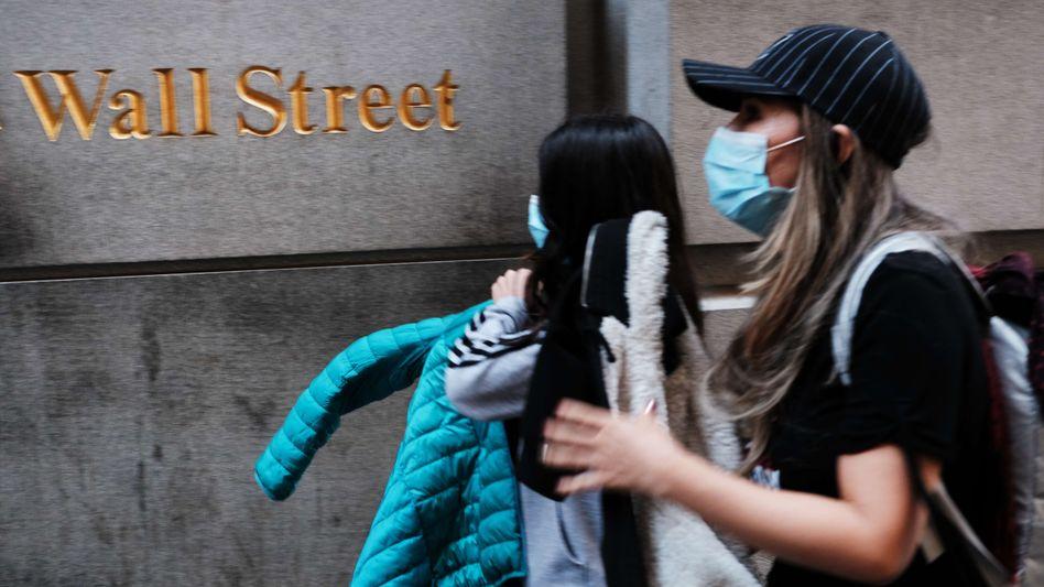 Im Zeichen der Pandemie: Die Corona-Krise ist an der Börse weiter ein beherrschendes Thema